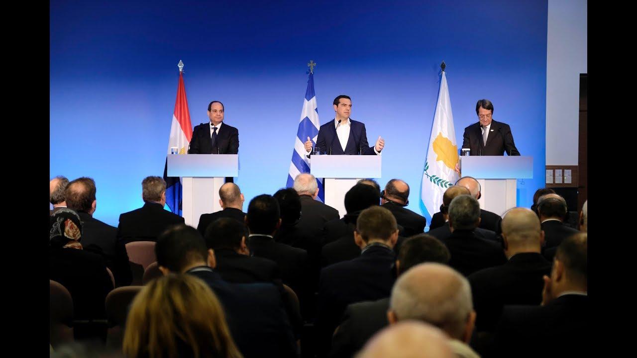 Κοινές δηλώσεις στο πλαίσιο της 6ης Συνόδου Κορυφής Ελλάδας – Κύπρου – Αιγύπτου
