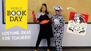 14 Fun World Book Day Costumes for Teachers