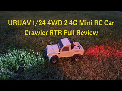 URUAV 1/24 4WD 2 4G Mini RC Car Crawler RTR Full Review Outdoors And In