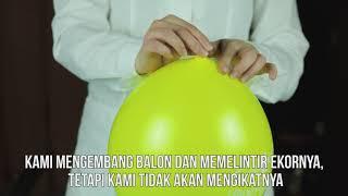 Bola berubah menjadi roket