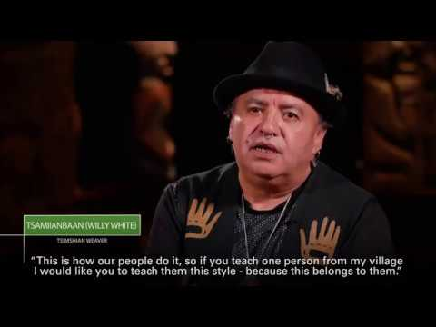 Tsimshian Weaver Tsamiianbann (Willy White)