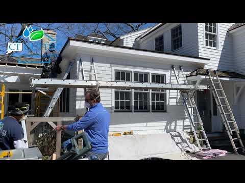 The Connecticut Gutter | New Canaan Rain Gutter Installation | CT Gutter