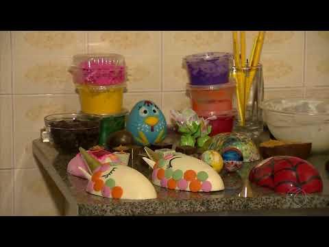 Empreendedores usam criatividade para garantir renda extra durante a Páscoa em Barbacena