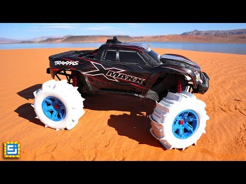 RC Car Tires Drive On Water Adventure!!