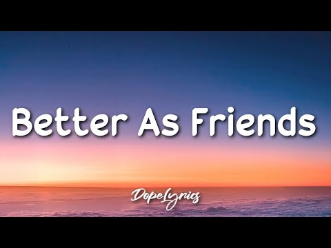 Uppbeat, Crim - Better As Friends (Lyrics) 🎵