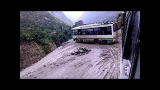Amazing HRTC Bus Driving Skills, Himachal Pradesh