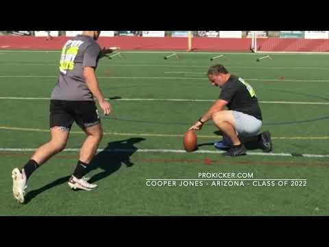 Cooper Jones - Ray Guy Prokicker.com Kicker, Arizona, Class of 2022