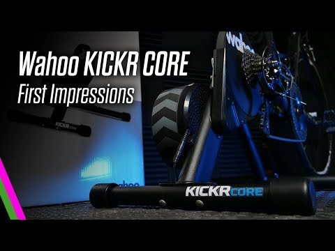 Wahoo KICKR CORE - Unboxing, Setup, and 1st Ride Impressions