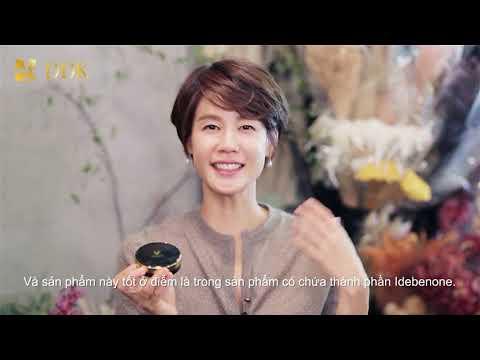 Kim Ji Ho chia sẻ bí quyết làm đẹp với Idebenone Cushion.