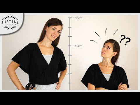How to look taller (playing with proportions): tips from a fashion designer ǀ Justine Leconte