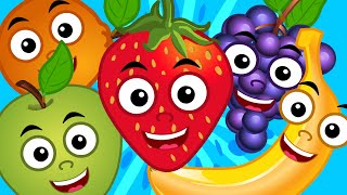 Fruits Song | Learn Fruits | Nursery Rhymes | Kids Songs | Baby Videos | Kids Tv Cartoons