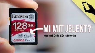 EZEKRE figyelj microSD / SD kártya vásárlásánál!
