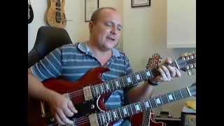 How to play Different Shades of Blue - Joe Bonamassa - Guitar Lesson