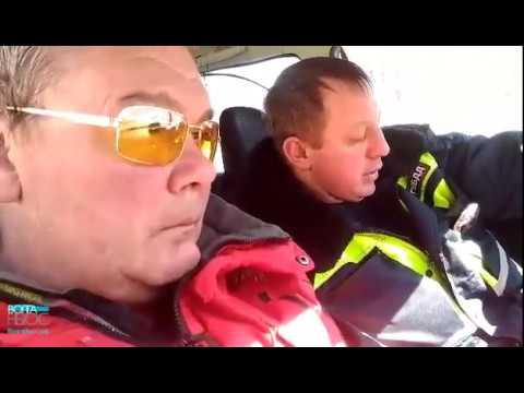 В Самаре водитель выпил водку на глазах у сотрудников ДПС