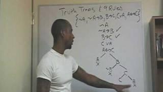 9. Logic Lecture: Symbolic Logic 7: Truth Trees