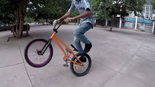 Harman-Green | Flatland Street Ride | Ride Bmx India