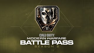 100 tiers. 100 rewards to unlock.   Play your way to new weapons, the legendary Ghost operator, skins, blueprints, and more - all in the Season Two Battle Pass. Available now for purchase on all platforms.   Follow us for all the latest intel: Web: http://www.CallofDuty.com ; Facebook: http://facebook.com/CallofDuty and https://www.facebook.com/InfinityWard/ ; Twitter: http://twitter.com/CallofDuty and https://twitter.com/infinityward; Instagram: http://instagram.com/CallofDuty and https://www.instagram.com/infinityward/