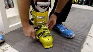 Как правильно надевать и снимать горнолыжный ботинок