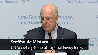 UN special envoy underscores need to keep up momentum