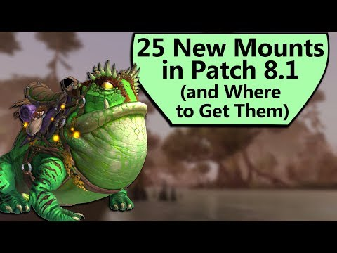 How to Get Every New 8.1 Mount