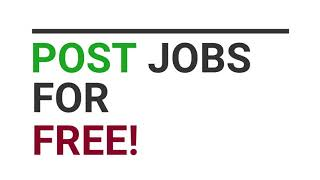 Free job hunting site | Free to post and apply