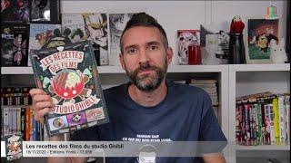 vidéo Les recettes des films du studio Ghibli