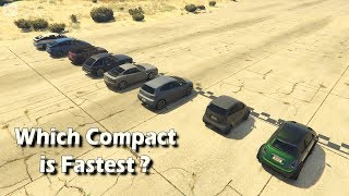 GTA V Which Compact Car Is Best ?