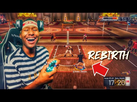 Taking my REBIRTH build to the 1v1 court was a BIG MISTAKE! Best Rebirth Build 2k19! Best Build 2k19