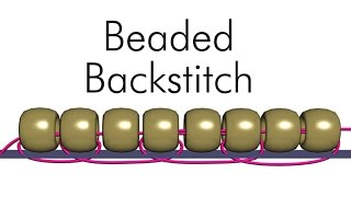 Beaded Backstitch with Ann Benson