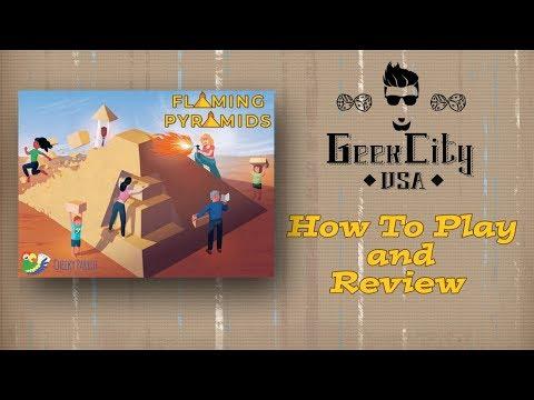 Geek City USA Reviews Flaming Pyramids