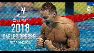 Caeleb Dressel ● NCAA Records | Motivational Video | 2018 - HD