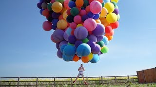 Can $5000 of Helium Lift a Man?
