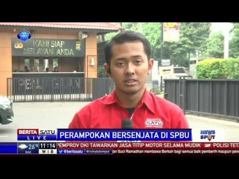 Polisi Periksa Rekaman CCTV Perampokan di Cengkareng