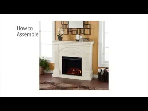 FE9275: Sicilian Harvest Electric Fireplace - Ivory Assembly Video