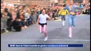 Glam Run Maisons De Mode 2012, La Course à Talons Aiguilles De Lille Sur France 3