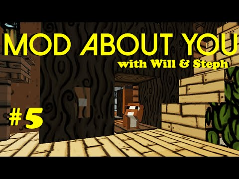 Minecraft - Squirrel Infestation - Mod About You - Episode #5 with IHateWill & StephaKnee