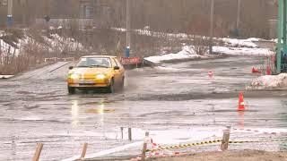 Авто Ваз 2108 валит боком драг дрифт жжет резину ( ТЫХАН TV )