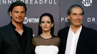 Ева Грин (Eva Green), Josh Hartnett, Eva Green and Timothy Dalton Debut 'Penny Dreadful'