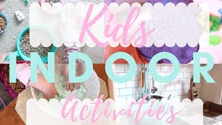 Indoor Activities For Kids! Sensory Play Ideas/EASY SLIME DIY! Social Distancing/Stuck At Home Ideas