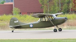 Airplane Acrobatics - Cessna L19 Bird Dog