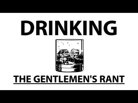 Názor gentlemanů na opilství