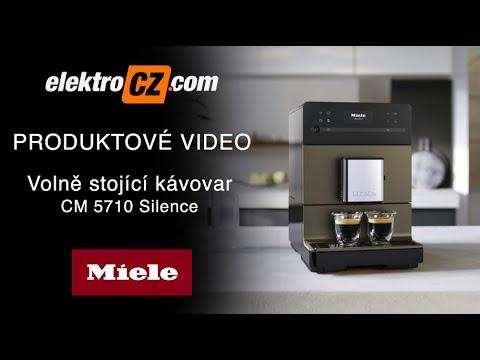 Volně stojící kávovar Miele CM 5710 Silence