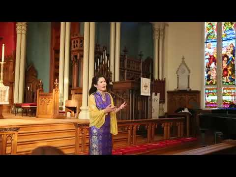 Wen Zhang Sings Mon coeur s'ouvre a ta voix from Samson et Dalila