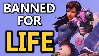 Overwatch Cheaters Banned For LIFE