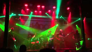 egelados-burnin' leather (bathory)  live stage 8ball 28-8-15