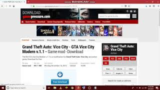 gta vice city android ultra enb modern city graphics mod download