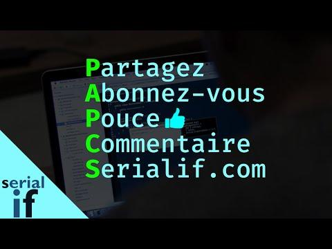 PAPCS : Partagez, Abonnez vous, Pouce (en haut), Commentaire, Serialif.com