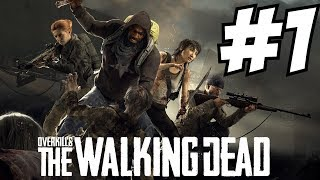 Overkill's The Walking Dead Gameplay Campaign & Horde Mode Anderson Camp Central George Town - dooclip.me