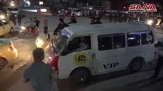 مسيرات تجوب شوارع الحسكة احتفالاً بالإعلان عن تحرك الجيش لمواجهة العدوان التركي
