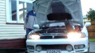 preview picture of video 'JDM Projector Headlights BG5 Subaru Legacy'
